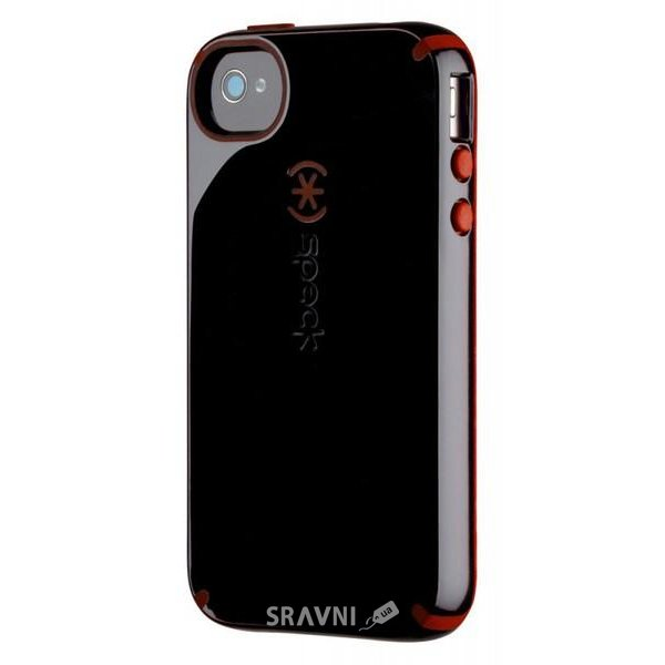 Фото Speck CandyShell for iPhone 4/4S Black/Pomodoro (SPK-A0778)
