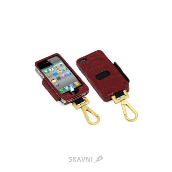 Фото Tunewear Prie Ambassador Red Crocodile for iPhone 4 IP4-PRIE-AMB-05