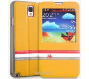 Фото Yoobao Fashion case for N9000 Galaxy Note 3 yellow (PCSAMN9000-FYL)