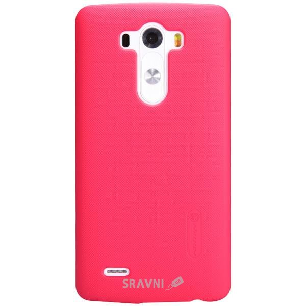 Фото Nillkin Super Frosted Shield for LG G3 (Red)