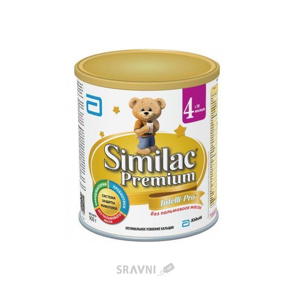 Фото Abbott Similac Premium 4 900 г