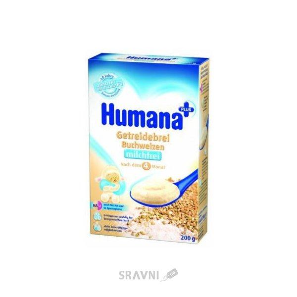 Фото Humana Каша безмолочная Гречневая, с 4 мес 200 г
