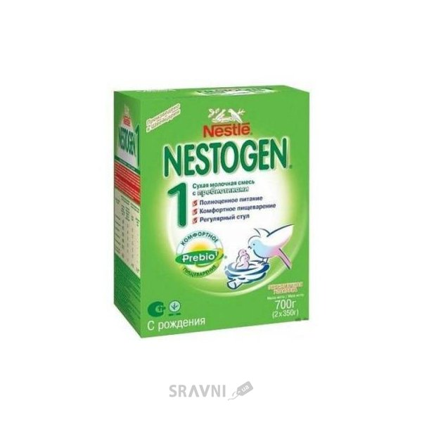 Фото Nestle Nestogen 1 с прибиотиками 700 г
