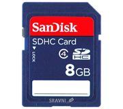 Фото SanDisk SDHC 8Gb