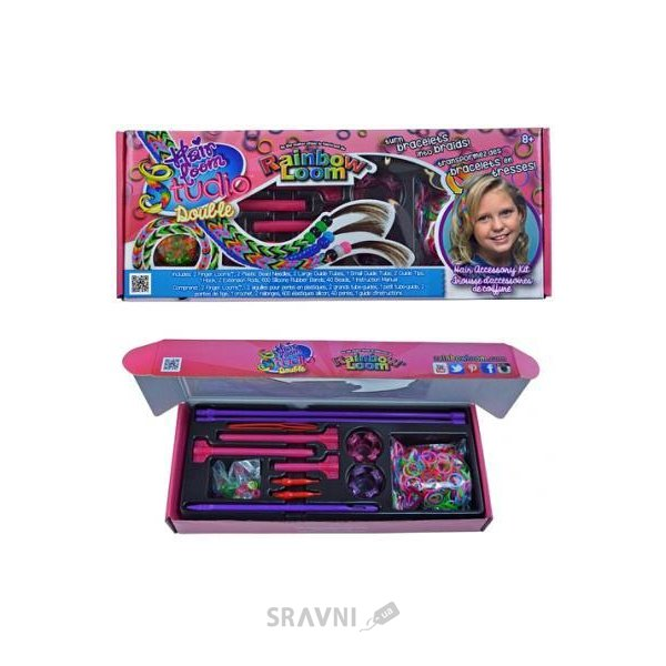 Фото Rainbow Loom Hair Loom Studio Double (R0054)