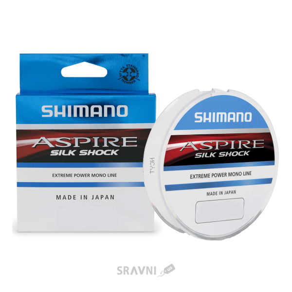 Фото Shimano Aspire Silk Shock (0.20mm 50m 4.2kg)