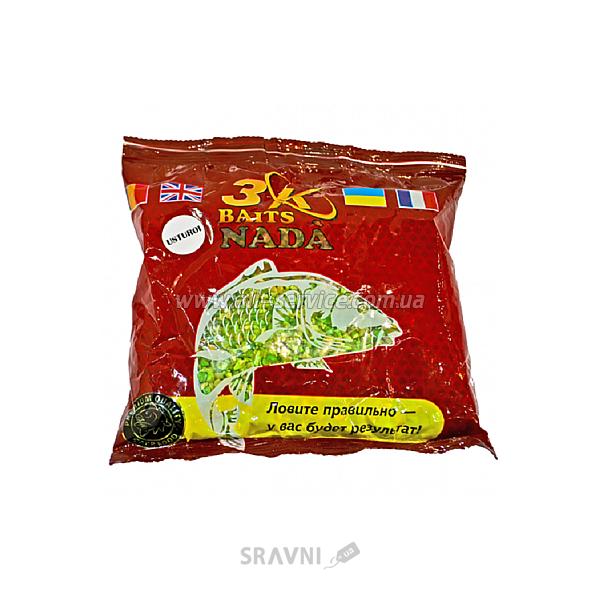 """Фото 3KBaits Дробленая сухая зерновая смесь """"PVA MIX"""" Чеснок 300g"""