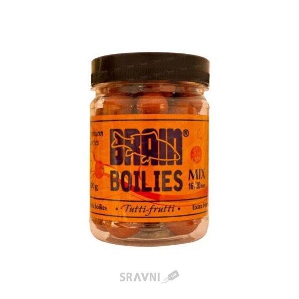 Фото Brain Бойлы Soluble boilies «Tutti-Frutti» mix 16-20mm 200g