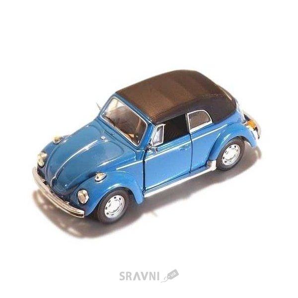 Фото Cararama VW Beetle Soft Top (251PND-10930)