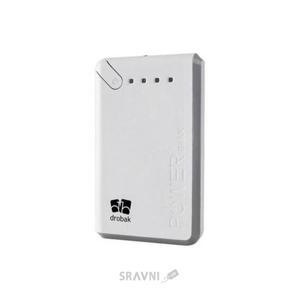 Фото Drobak Power 10000 mAh White (606806)