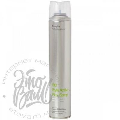 Фото Лак Erayba S10 Flex Spray для волос средней фиксац
