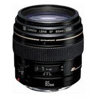 Цены на Объектив Canon 85mm f/1.8 USM (2519A012) CANON А также в подарок: сертификат на 1000 гривен + ваучер в Irista 50Гб! Canon 85 mm f/1.8 USM – стандартный объектив с постоянным ФР. Крепление Canon EF и EF-S; автоматическая фокусировка; минимальное расстояние, фото