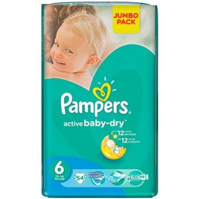 Фото Pampers Pants Extra Large 6 (54 шт.)