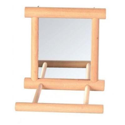 Фото Зеркало для попугая Trixie 5861 9х9 см Вид аксессу