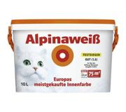 Фото ALPINA Краска Alpina AlpinaWeiss Matt 10 л Дисперс