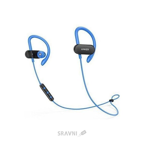 Наушник Anker SoundBuds Curve Black/Blue (A3263HJ1)