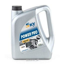 Моторное масло Sky Power PRO 5W-40 4л