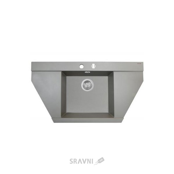 Мойку для кухни Perfelli MAJESTIC TGM 1251-96 GREY METALLIC