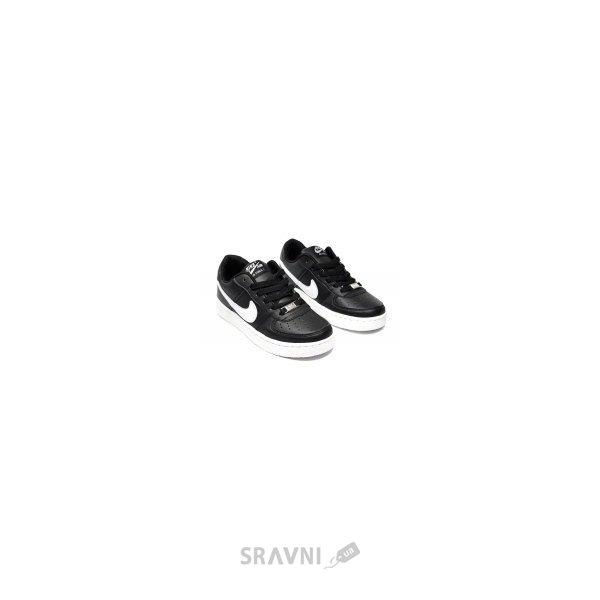 61c85309 Кроссовки, кеды женские Nike Женские кроссовки Nike Air Force 1 черные с  белым F1168. черный