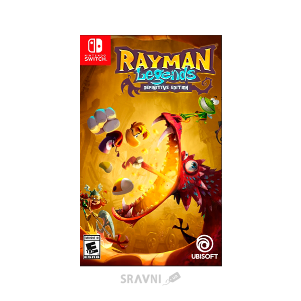 Игру для приставок Rayman Legends Definitive Edition (Switch)
